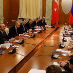 Во время встречи с Путиным Эрдоган назвал условие целостности Сирии