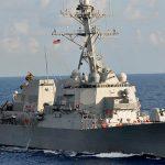 Эсминец США вошел в Балтийское море