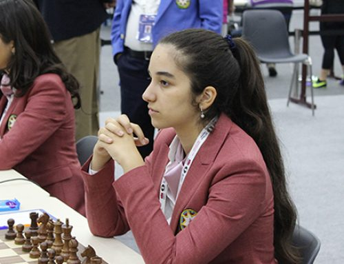 Азербайджанская шахматистка идет 13-й на ЕВРО