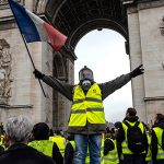 Полиция Франции c ноября задержала более 8,7 тыс. «желтых жилетов»