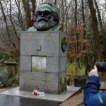 Могилу Карла Маркса в Лондоне осквернили