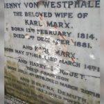 Неизвестные осквернили могилу Карла Маркса в Лондоне