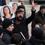 В Стамбуле провели акцию в поддержку голодающего депутата