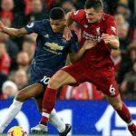 «Манчестер Юнайтед» и «Ливерпуль» сыграли вничью в матче чемпионата Англии