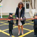 Первый вице-президент Мехрибан Алиева приняла участие в открытии нового детского сада