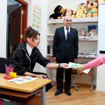 Мехрибан Алиева сегодня посетила специальную школу и ясли