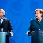 Меркель и Пашинян обсудили в Берлине Карабах
