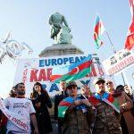 Митинг азербайджанцев в Брюсселе: Хотим вернуться в Карабах!