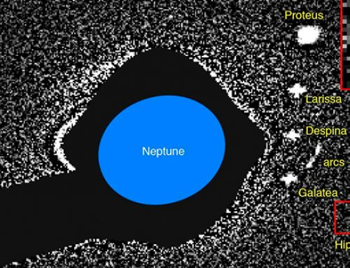 «Хаббл» открыл новую луну Нептуна