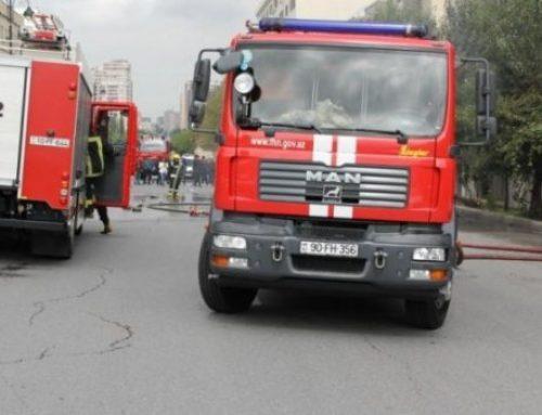 Пожар в Баку — эвакуированы 12 человек