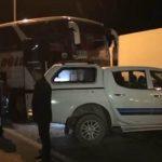 В Кюрдемире столкнулись принадлежащий «Азерсу» автомобиль и автобус