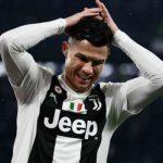 Роналду покинул стадион «Ювентуса» до окончания матча с «Миланом»