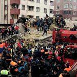 В Стамбуле произошло обрушение семиэтажного здания