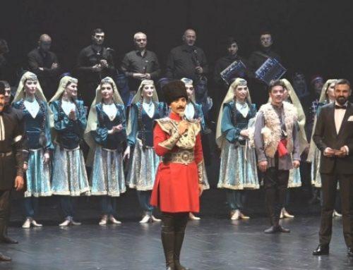 Азербайджанский государственный ансамбль танца выступил в Стамбуле