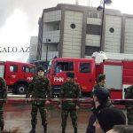 Огонь коррупции: пожар вТЦ Diqlas и думы