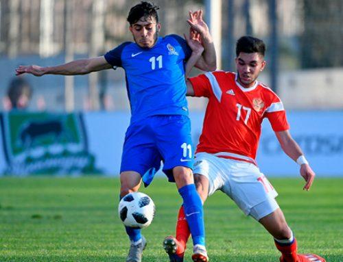 Азербайджан сыграл вничью с Россией