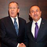 Лавров и Чавушоглу обсудили Сирию и Ливию