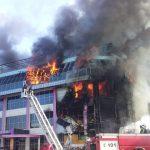 Почему магазины сгоревшего торгового центра не были застрахованы от пожара?