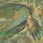 В Китае впервые нашли останки «беременной» древней птицы