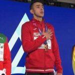Азербайджанский атлет Назим Бабаев стал чемпионом Европы