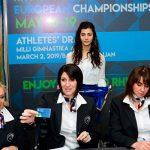 Состоялась жеребьевка Чемпионата Европы по художественной гимнастике