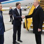 Президент Азербайджана Ильхам Алиев отбыл с рабочим визитом в Австрию