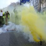 «Желтые жилеты» устроили погром в Брюсселе