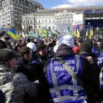 В центре Киева произошли столкновения