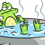 Человечество сравнили с лягушкой в кипятке