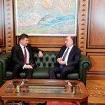 Глава МИД Азербайджана встретился в Баку с действующим председателем ОБСЕ