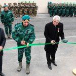 На госгранице с Арменией сдана в пользование новая воинская часть ГПС Азербайджана
