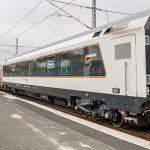 Первый пассажирский поезд по маршруту Баку-Тбилиси-Карс прибыл в Баку