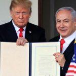 Трамп: Нетаньяху согласился на условия «сделки века» по палестино-израильскому урегулированию