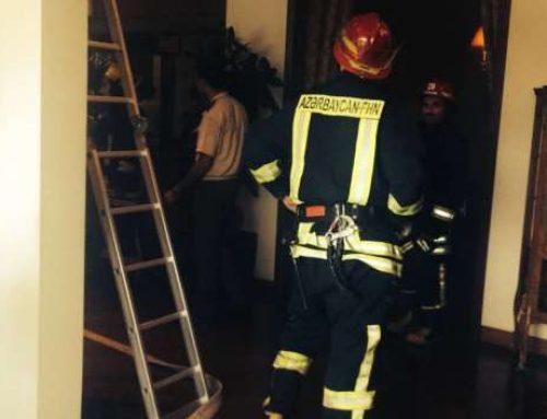 Четыре человека пострадали в результате взрыва в Габалинском районе