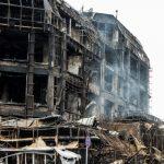 Владельцы пяти магазинов в сгоревшем ТЦ Diqlas обратились за компенсацией