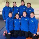 Женская сборная Азербайджана по борьбе заняла четвертое место на Чемпионате Европы