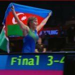 Азербайджанские борчихи завоевали 1 золотую и 3 бронзовые медали