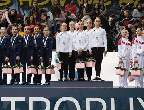 Азербайджанские гимнастки опередили команду России