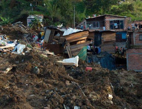 В Колумбии четырнадцать человек погибли при сходе оползня
