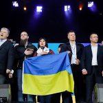 """Кандидаты в президенты Украины сразились на """"Олимпийском"""""""