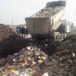 В Азербайджане уничтожено около 20 тонн просроченной продукции