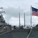 Эсминец ВМС США Porter покидает Черное море после учений Sea Breeze - 2020