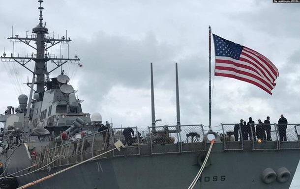 Эсминец ВМС США Porter покидает Черное море после учений Sea Breeze — 2020