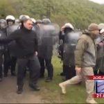В Грузии произошли столкновения силовиков с протестующими