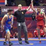 Двое азербайджанских борцов одолели армян на чемпионате Европы