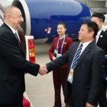 Президент Азербайджана Ильхам Алиев находится с рабочим визитом в Китае