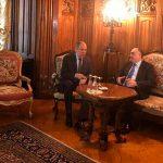 Главы МИД Азербайджана и России встретились в Москве