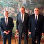 В Москве завершилась встреча глав МИД России, Азербайджана и Армении