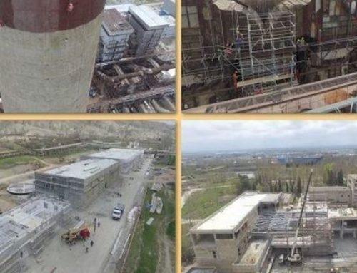 Электростанция в Мингячевире реконструируется