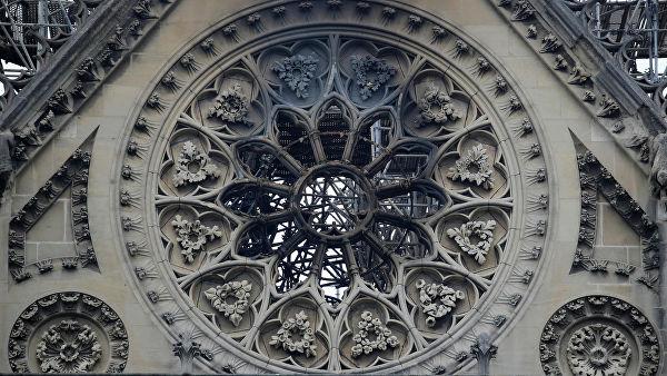 В Париже началась реставрация органа в сгоревшем соборе Нотр-Дам-де-Пари